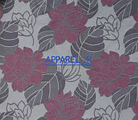 Мебельная ткань MARSEL FLOWERS ROSE  жаккард (производство Аппарель)