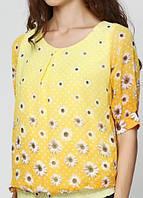 78041 Блуза женская желтая: imprezz.com.ua