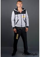 Мужской спортивный костюм Сэм черный