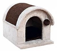 Когтеточка Trixie Arlo Cat House для кошек, домик, 40х40х45 см