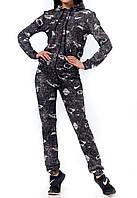 Женский спортивный костюм, 1219W-black