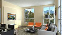 Дизайн-проект интерьера - 2-х комнатная квартира stained-glass