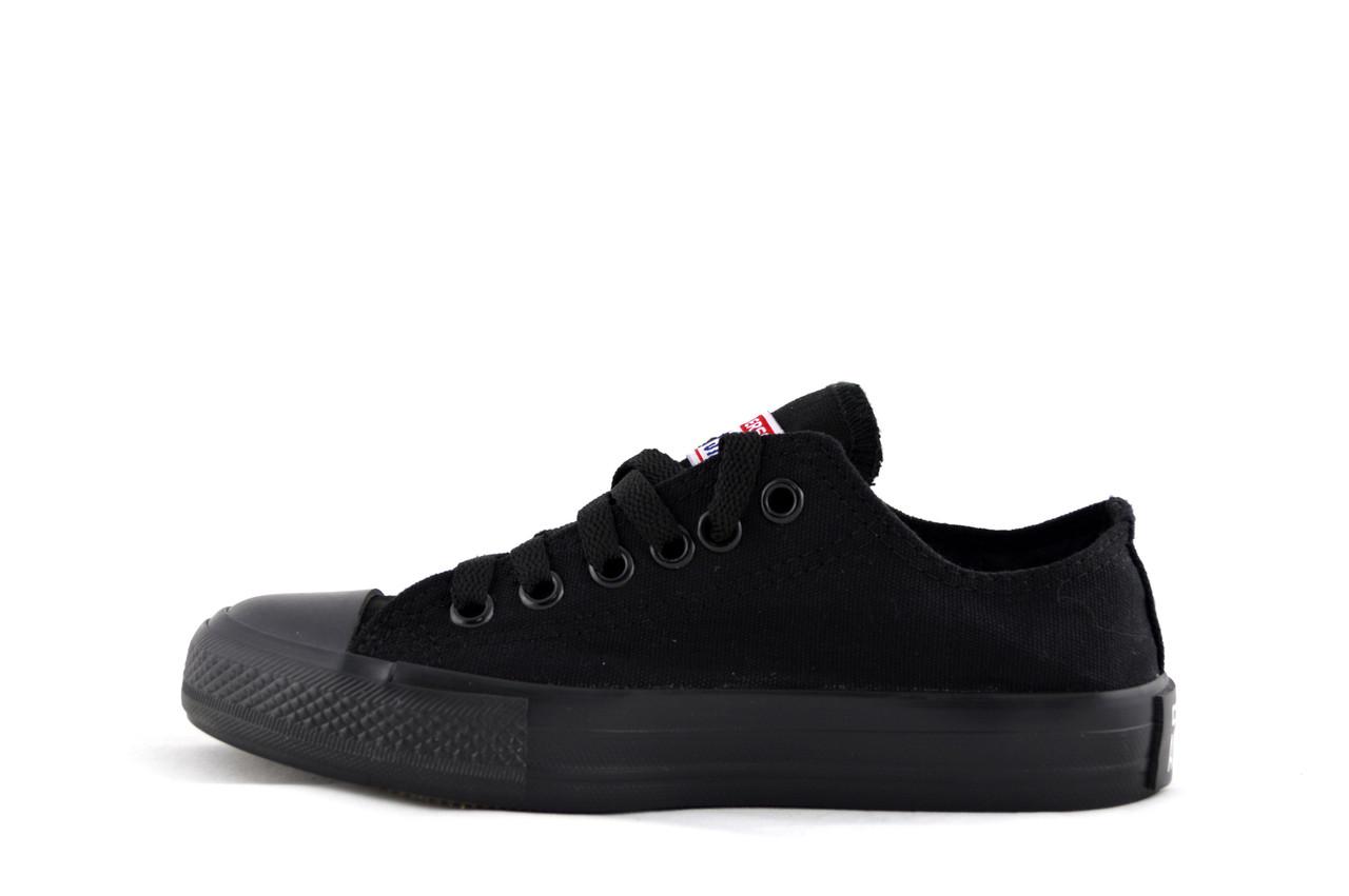 Кеды Converse Low Black мужские Конверс низкие черные реплика Вьетнам 6be750313cda3