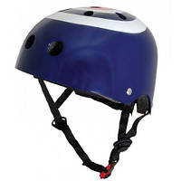 Шлем детский Kiddi Moto синяя мишень (размер M)