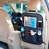 BabyDan Защитный чехол на сиденье+органайзер Back seat organizer 9000