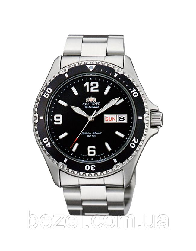 Мужские механический часы Orient FAA02001B9 Mako II Ориент дайвер  водонепроницаемые японские - BEZEL - оригинальные часы 68a87ab4958bc