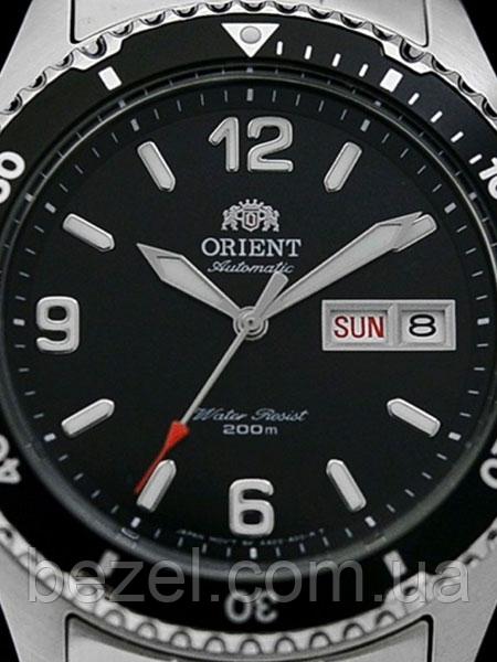 31148d26 ... Мужские механический часы Orient FAA02001B9 Mako II Ориент дайвер  водонепроницаемые японские, фото 3