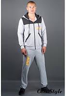 Мужской спортивный костюм Сэм серый