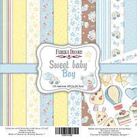 Набор бумаги для скрапбукинга Фабрика  декора - Sweet Baby Boy, 30,5x30,5 см, 10 листов
