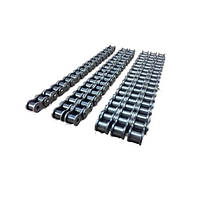 Цепь роликовая однорядная двухшаговая (2040-1X5M+1C/L)(25,4х7,95х7,85)(600981) (5 м), Donghua/DON