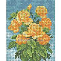 Схема для вышивания бисером Букет желтых роз БИС4-70 (А4)