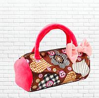 Детская сумка,летняя коричневая