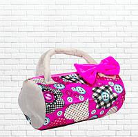 Детская сумка,летняя розовая