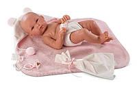Llorens - новорожденная кукла девочка New Born Bimba , 35 см