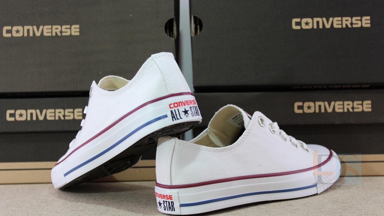 ... Женские и подростковые белые кеды Converse all star white реплика  Вьетнам ae26e7f585e0e
