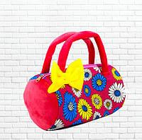 Детская сумка,летняя красная