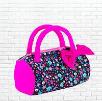 Детская сумка,летняя фиолетовая