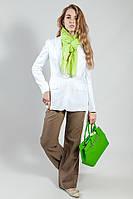 Пиджак женский белый  летний  коттоновый   Massimo Dutti