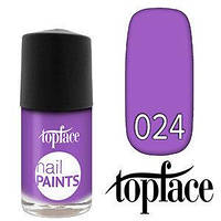Topface лак для ногтей Nail Paints Polish 24