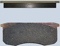 Колодка тормозная УАЗ 3160, 3162, 31512 (перед.диск.торм.) (комплект 4 шт.) V220 (пр-во FINWHALE)