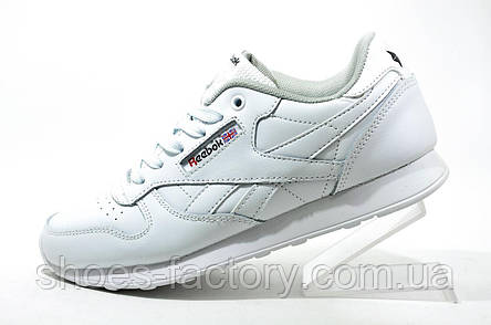 Женские кроссовки Reebok Classic Leather, White (Med Diamond), фото 2