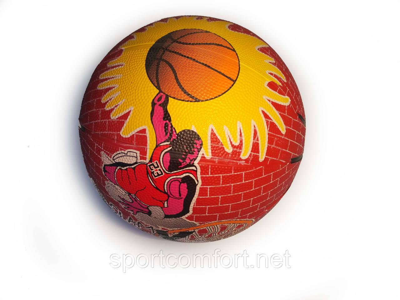 Баскетбольний м'яч №7 Slam Dunk резина