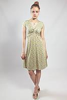 Платье женское летнее приталенное повседневное цветное маленький размер Rinascimento