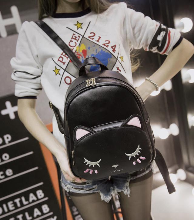 0a2cd7387d0c Оригинальный женский мини-рюкзак с котиком. Хорошее качество ...