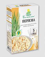 """Крупа перловая """"ТЕРРА"""" варочный пакет 5шт/80гр"""