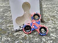 American Flag Spinners с флагом