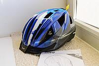 Шлем велосипедный Crivit+Мигалка, Велошлем Crivit, Германия, Оригинал!, фото 1