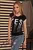 "Женская футболка ""Yes"" из вискозы"