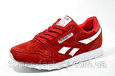 Женские кроссовки в стиле Reebok Classic Leather, Red (Med Diamond), фото 2