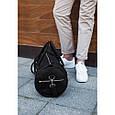 Кожаная спортивная дорожная сумка Harper, фото 3