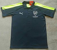 Мужские поло с пуговицами Puma FC Arsenal 16-17