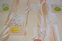 Обои на стену, виниловые, на кухню, красивые, светлые, 825-02, супер-мойка, 0,53*10м