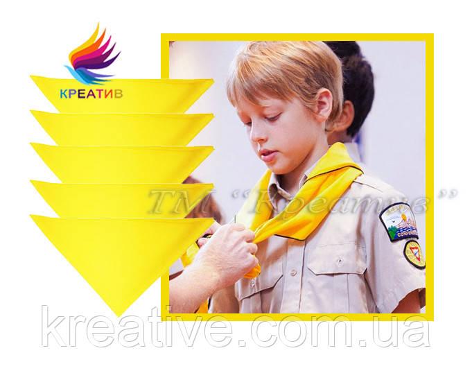 Банданы для скаутов с логотипом для лагерей, школ, садиков под заказ (от 50 шт)