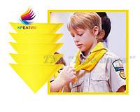 Банданы для скаутов с логотипом для лагерей, школ, садиков под заказ (от 30-50 шт)