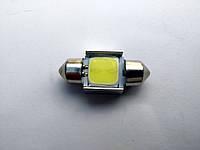 LED лампа для авто (подсветка салона) - 31mm - белый
