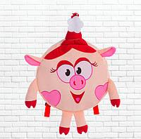 Детский рюзак,смешарики,Нюша,розовый