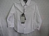 Рубашка для мальчика р 6-7-8-9год