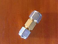 Соединитель для ПВХ трубки 8-8 мм