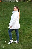 Удлиненная зимняя куртка синтепон 200 Батал