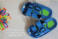 Детские шлепанцы шлепки для мальчика тм Super Gear р.24,27,28