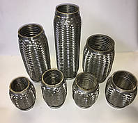 Гофра глушителя всех размеров от 38 до 90 мм в диаметре, длинна до 350 мм