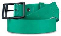 Оригинальный мужской кожаный ремень Piquadro PULSE/G.Green CU3415P15_VE2 зеленый ДхШ: 125х3,5 см.