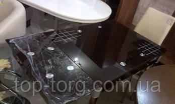 Стол ТВ-21 коричневый без узора  800х650мм, 1300х650мм