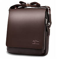 Мужская сумка через плечо Kangaroo Kingdom brown