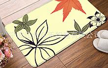 Флисовый коврик «Цветок» 50×80 cм