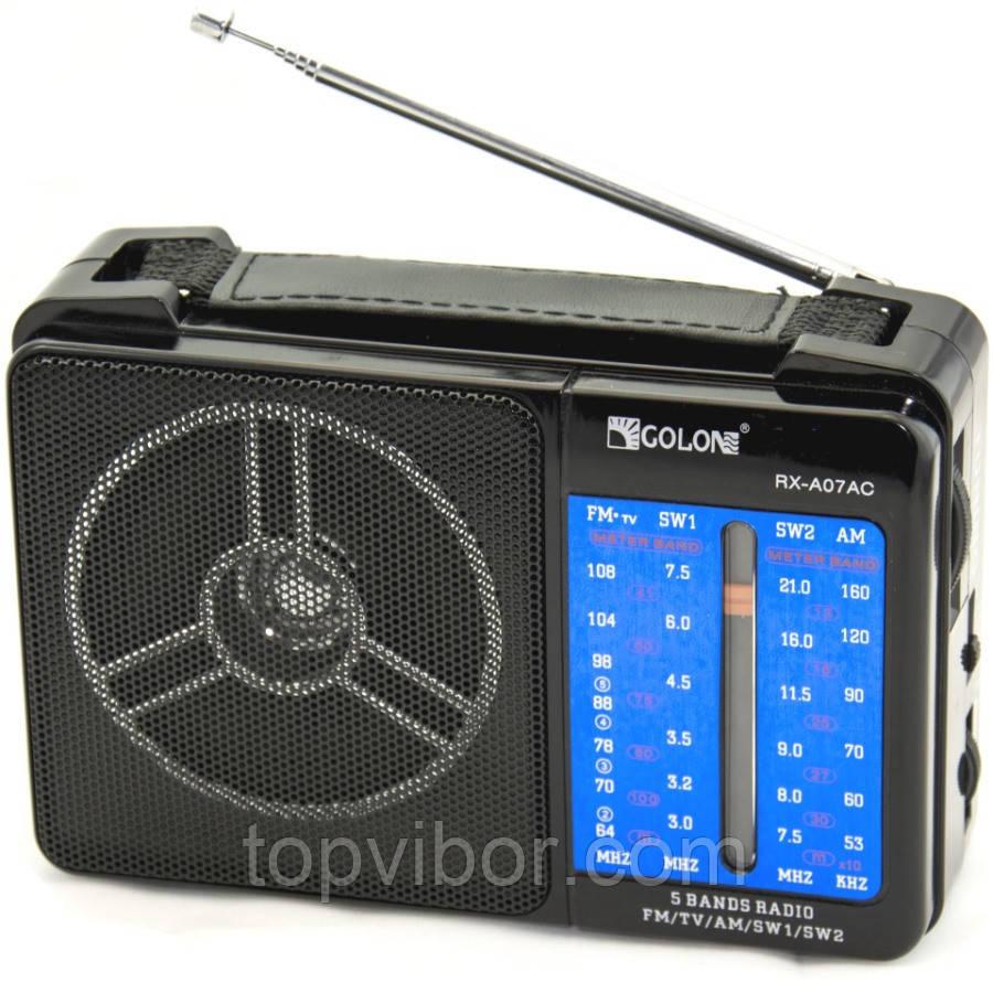 Радиоприемник GOLON RX-A07AC, FM-радиоприемник, радиоприемник, приемник golon - ТОП-ВЫБОР! www.topvibor.com в Киеве